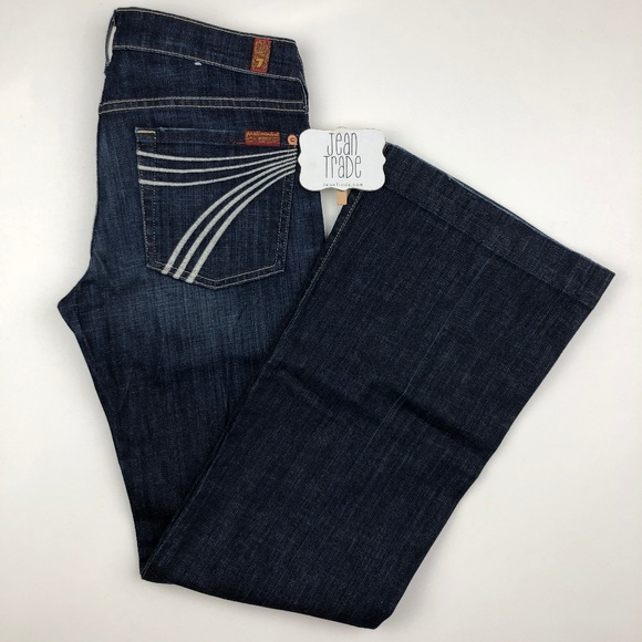 7 for all Mankind Denim - 7 for all mankind dojo flare jeans